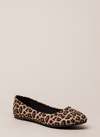 Everyday Wear Leopard Print Flats