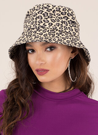 Animal Life Denim Bucket Hat