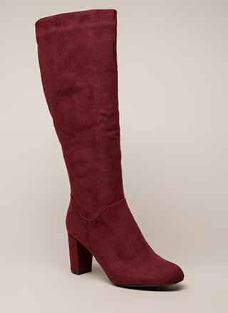 A Star Is Born Chunky Knee-High Boots