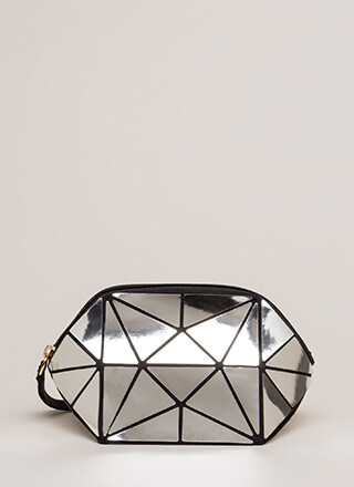 Tile Me Something Good Shiny Clutch