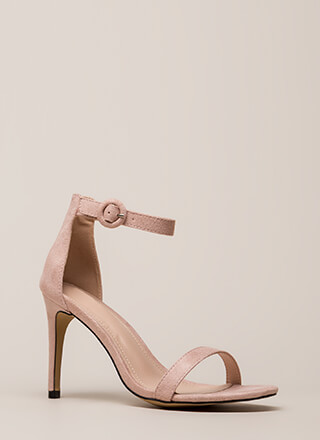Always And Forever Ankle Strap Heels