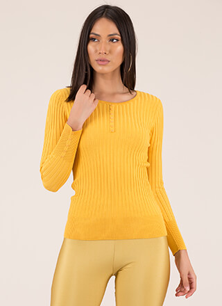 I'll Take Them All Rib Knit Top