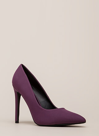 Starting Point Faux Nubuck Pumps