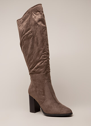 The Upside Chunky Knee-High Boots