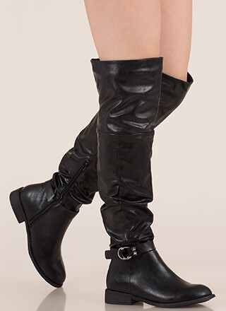 a4c55bb5bb1 Round  Em Up Slouchy Thigh-High Boots
