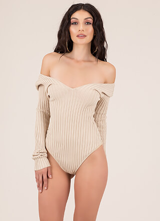 One In A Million Rib Knit Bodysuit