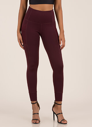 Sport These Paneled Jogger Leggings