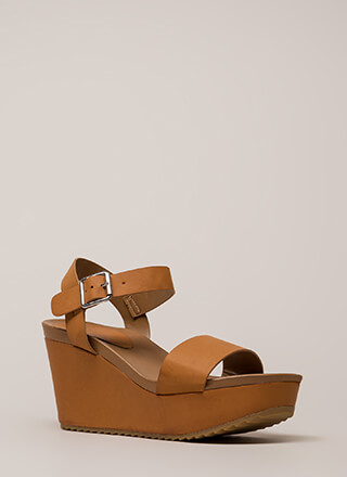 A Step Above The Rest Platform Wedges