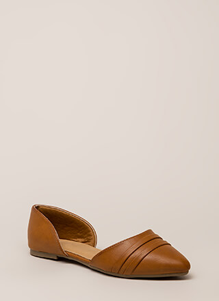 J'Adorable Strappy D'Orsay Flats
