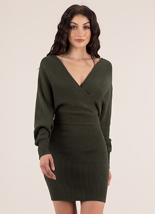 The Knit Factor 2-Piece Sweater Dress