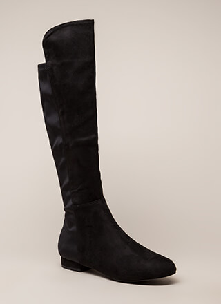 Going Going Gone Over-The-Knee Boots