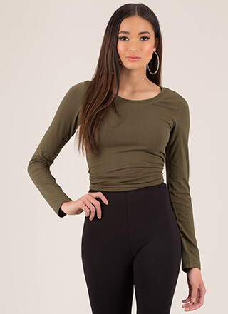 Basic Training Long-Sleeved Top