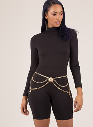 Lioness Draped Body Chain