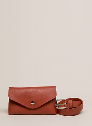 Take Me With You Belted Pouch