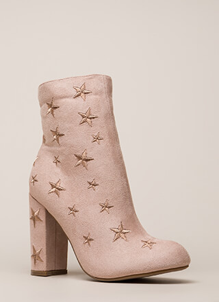 Reach For The Stars Chunky Booties
