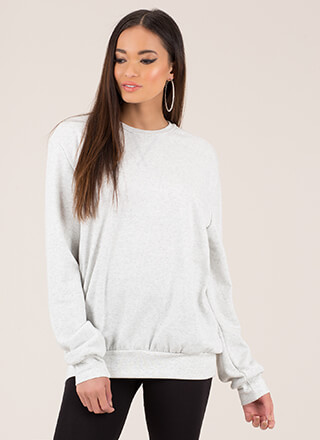 Ready Set Relax Oversized Sweatshirt