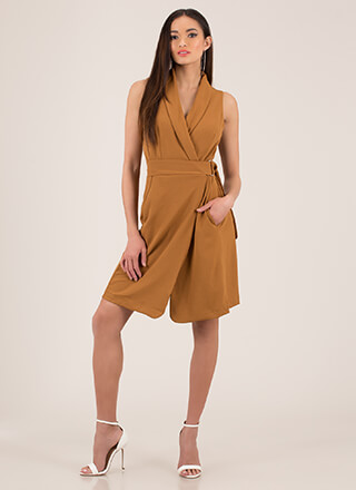Perfectly Suited Sleeveless Blazer Dress