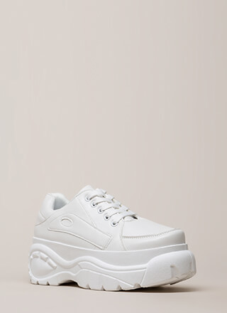Emotions Run High Platform Sneakers