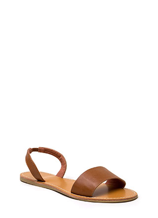 You're Good To Go Slingback Sandals