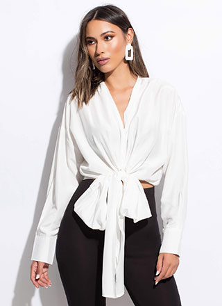 You Do You Tied Multi-Way Blouse