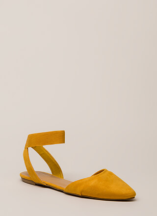 Have Fun Banded Almond-Toe Sandals