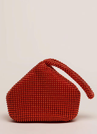 Answer Your Chainmail Studded Handbag