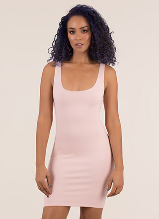 Curve Appeal Sleeveless Minidress