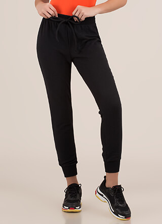 Getting Comfortable Sweatpant Joggers