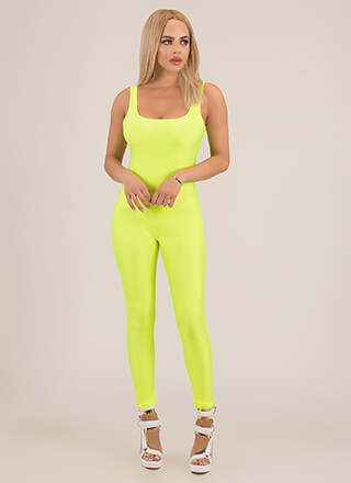 Let's Work It Out Nylon Jumpsuit