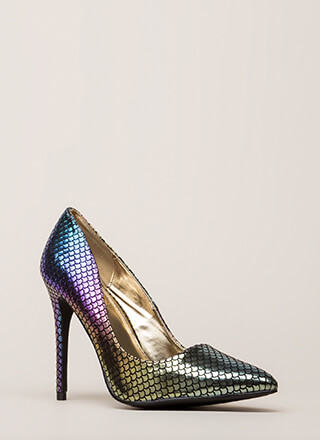Drawn To Scale Pointy Mermaid Pumps