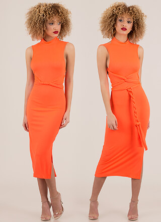 How You Like It Ribbed Multi-Way Dress