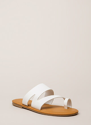 Shoreline Strappy Asymmetrical Sandals 41ff62c0b