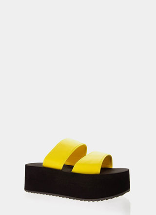 New Heights Platform Slide Sandals