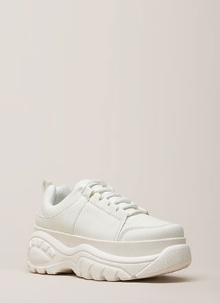 Soaring Above Platform Sneakers
