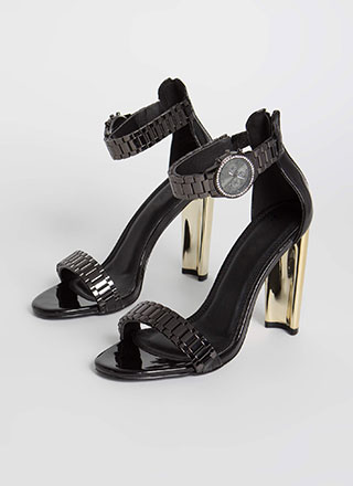It's About Time Watch Band Heels