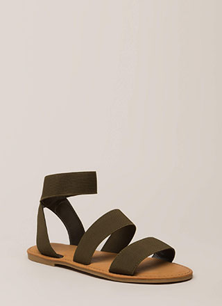 Banding Together Strappy Sandals