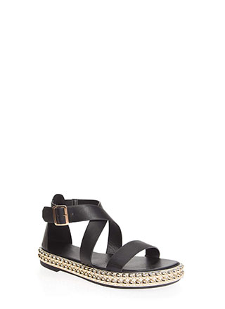 fa6413fbbe02 Bead Me To The Punch Strappy Sandals