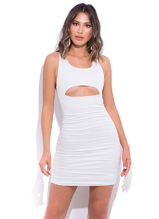 Bust A Move Cut-Out Open-Back Dress
