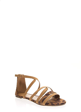 Your Animal Instincts Strappy Sandals
