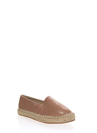 Step Up Braided Moccasin Flats
