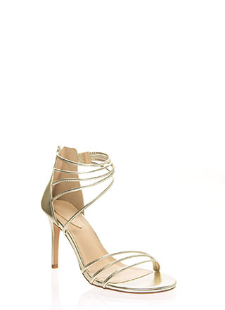 Sexy Strappy And Stiletto Heels