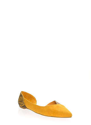 Wild Side Cut-Out Animal Flats