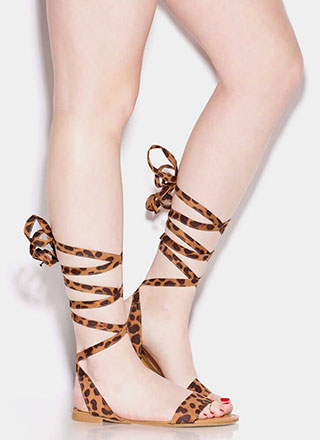 Ballerina Dreams Lace-Up Sandals