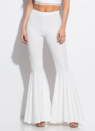 A Flare For Drama Bell-Bottom Pants