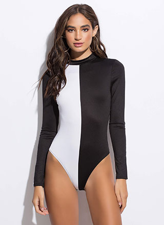 My Better Half Colorblock Bodysuit