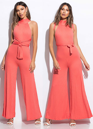 Lady's Choice Multi-Way Palazzo Jumpsuit