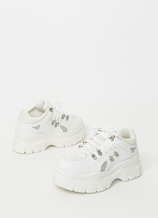 Higher Level Platform Sneakers
