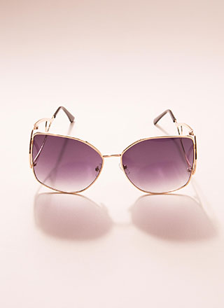 Drop Everything Butterfly Sunglasses