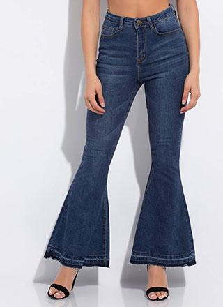 Big Fan Super Flared Bell-Bottom Jeans