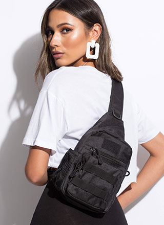I'm On My Way Mini Sling Backpack